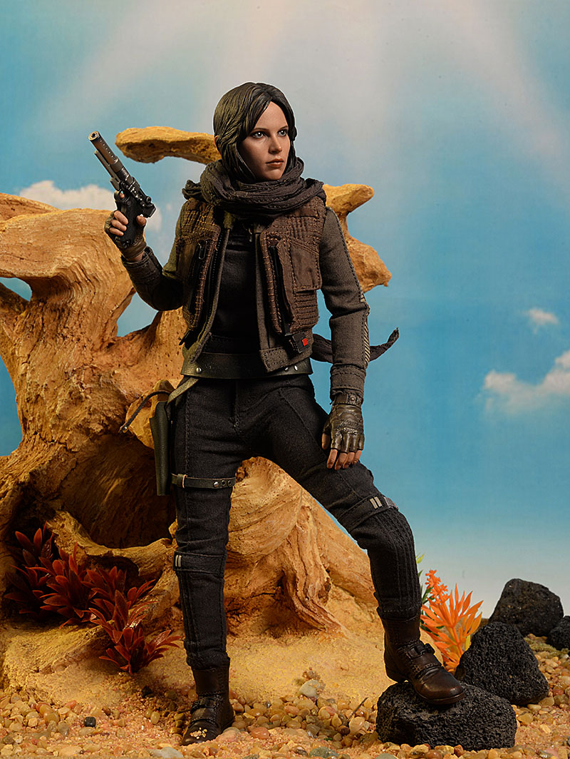 Hot Toys Star Wars Rogue One Jyn Erso Neck Lace loose 1//6th scale