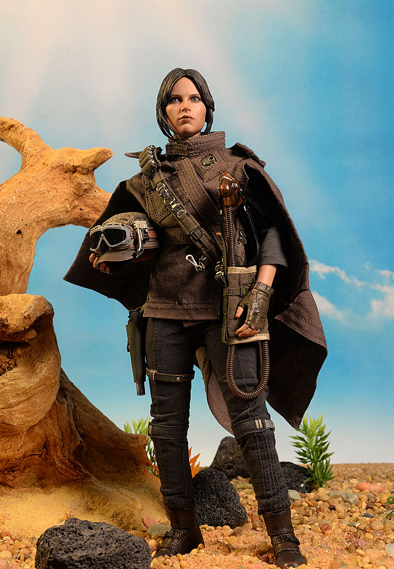 Hot Toys deluxe Jyn Erso action figure
