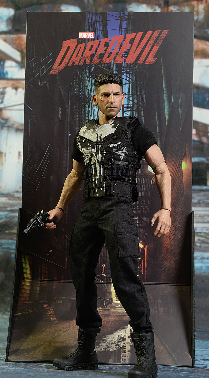 Review And Photos Of Hot Toys Punisher Netflix Sixth Scale