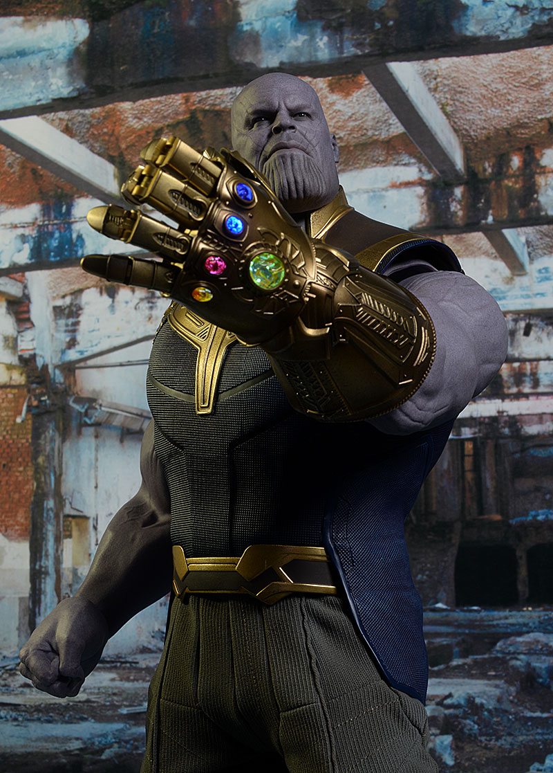 Thanos Infinity War Sixth Scale Action Figure by Hot Toys