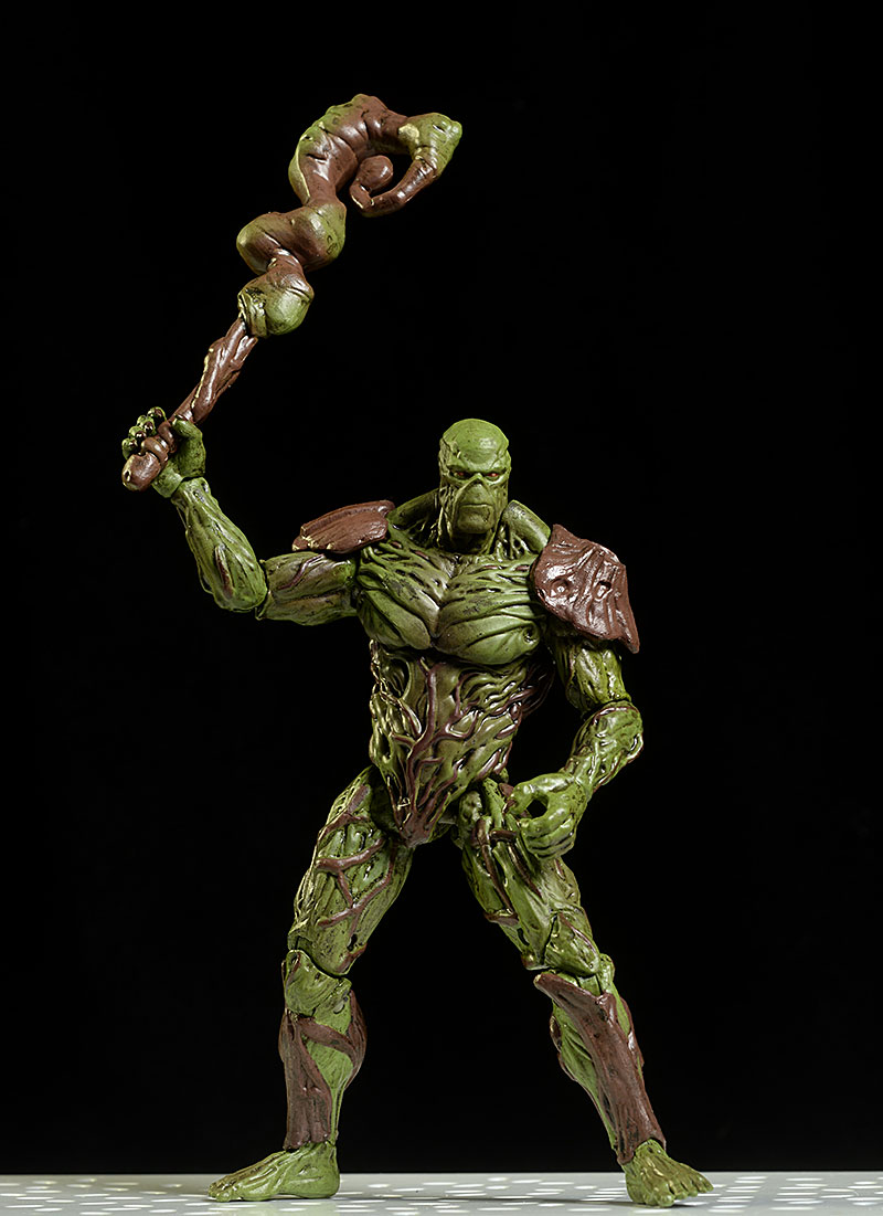 Swamp Thing, Harley Quinn, Red Hood Injustice 2 action figure by Hiya