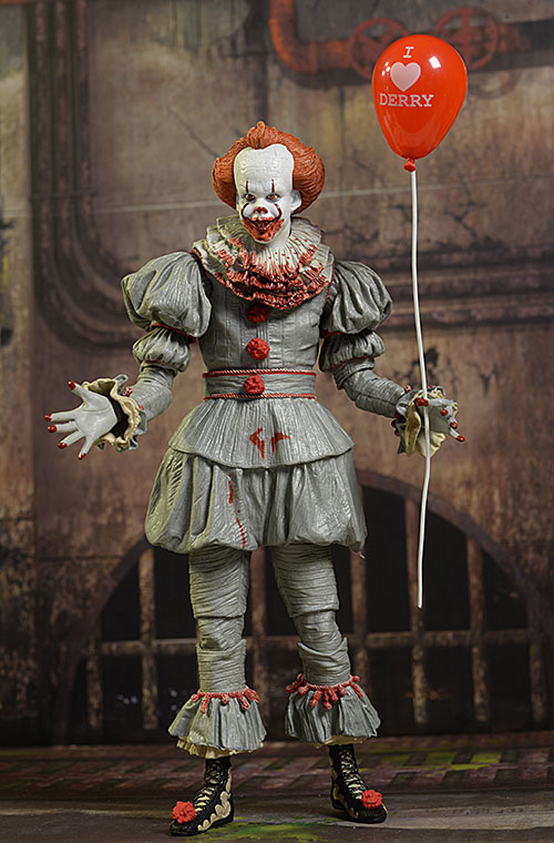 IT Pennywise the Clown Gamestop exclusive action figure by NECA