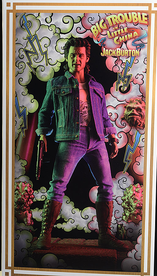 Jack Burton Big Trouble Little China sixth scale action figure by Sideshow