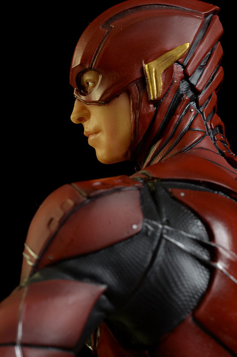 Flash Justice League statue from DC Collectibles