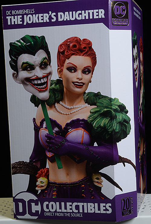 Joker's Daughter DC Bombshells statue by DC Collecttibles