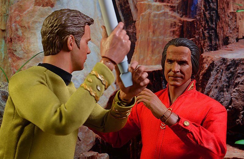 Star Trek Khan sixth scale action figure by Qmx