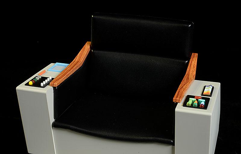 Captain Kirku0027s Chair Star Trek 1/6th Diorama By Quantum Mechanix