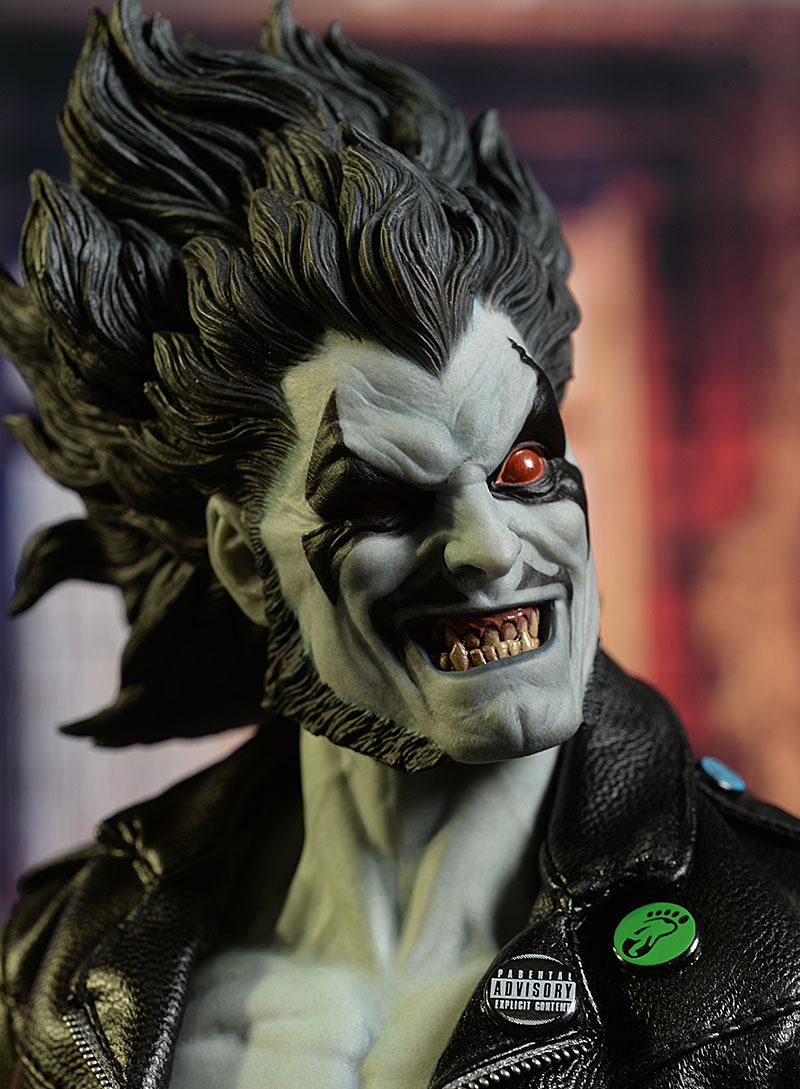 Lobo DC sixth scale action figure by Sideshow Collectibles