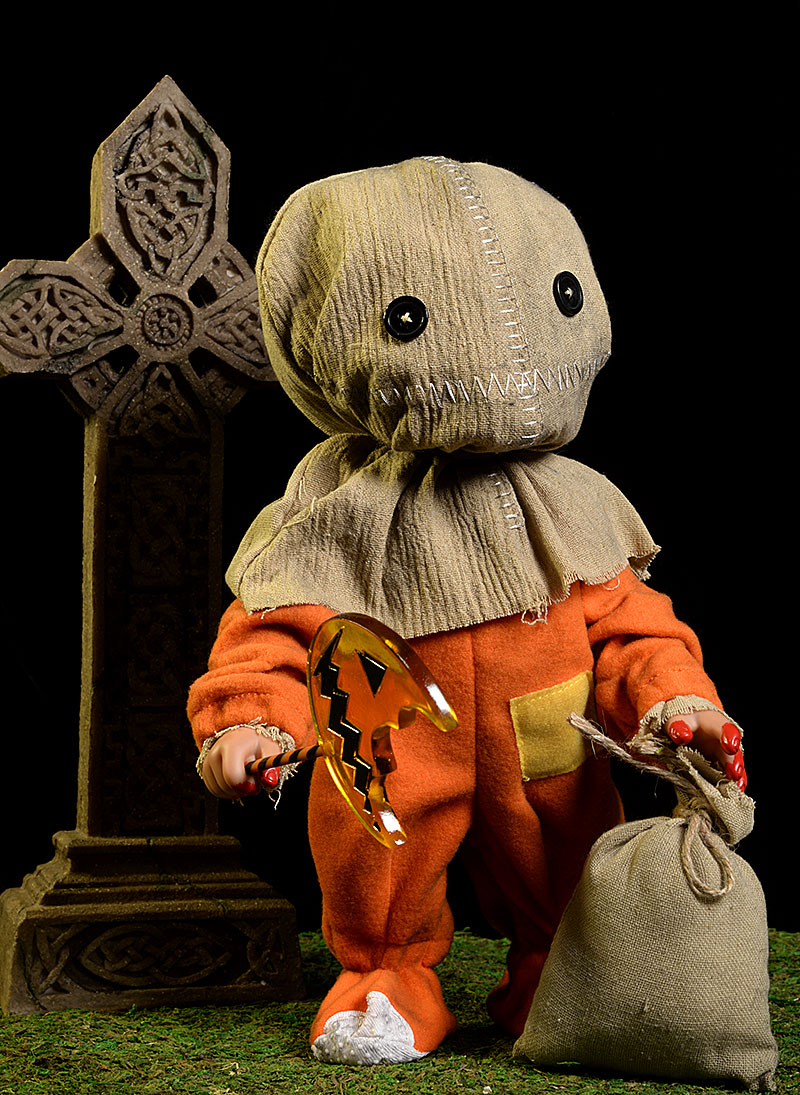 Trick R Treat Sam action figure by Mezco Toyz