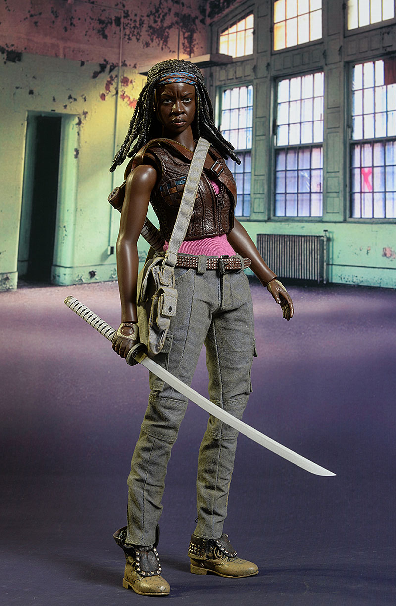 Michonne Walking Dead sixth scale action figure by ThreeZero