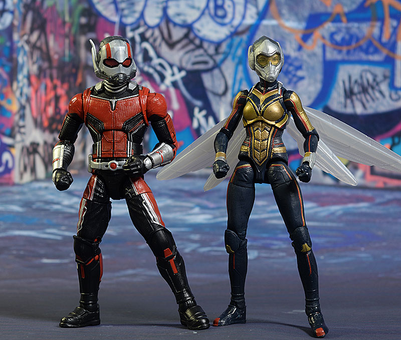 Ant-Man, Wasp Marvel Legends action figure by Hasbro