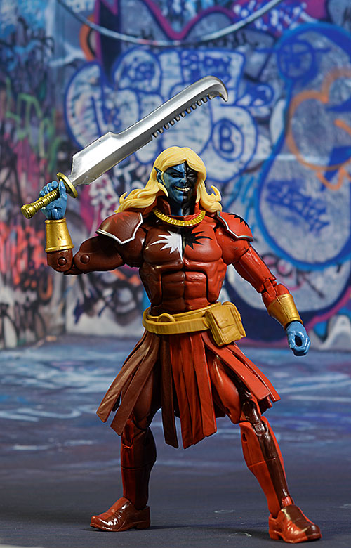 Black Knight, Malekith Marvel Legends action figure by Hasbro