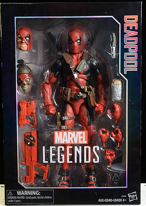 Marvel Legends Deadpool 12 inche action figure by Hasbro