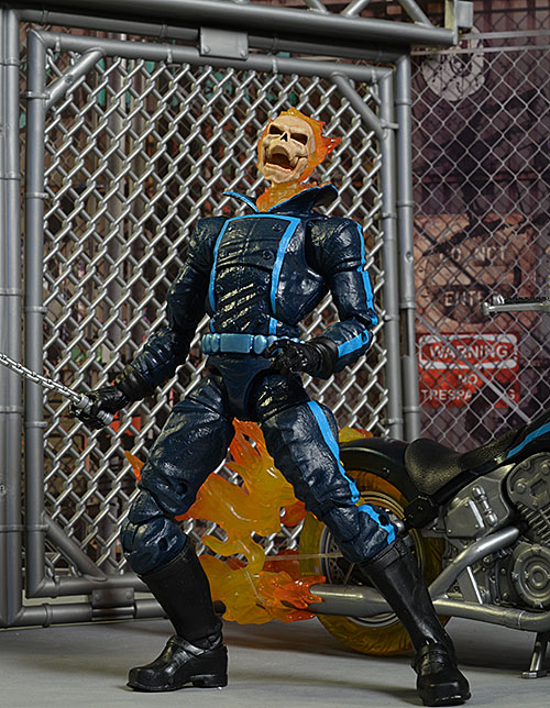 Ghost Rider & Flame Cycle Marvel Legends action figure by Hasbro