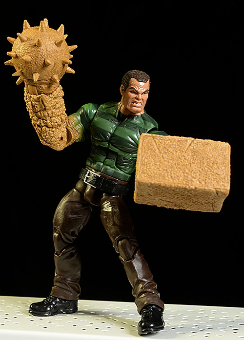 Sandman Marvel Legends action figure by Hasbro