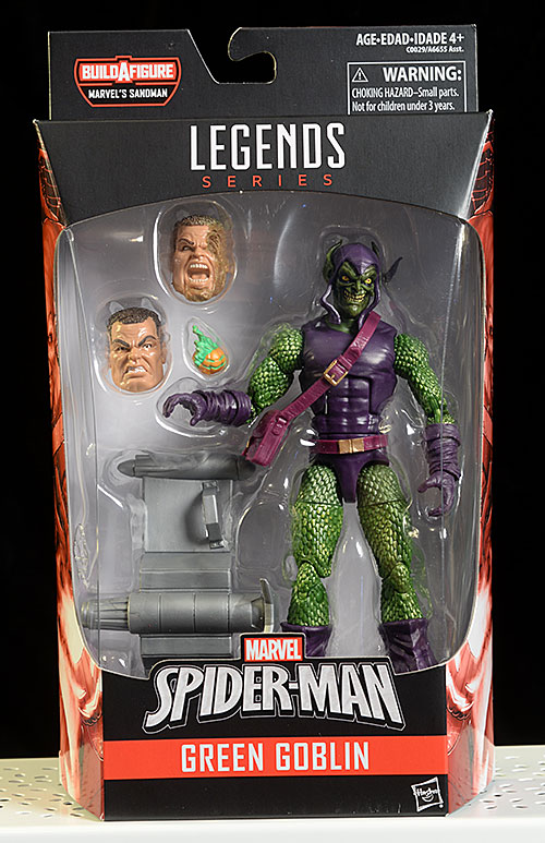 Sandman, Green Goblin, Spider-Man, Shocker Marvel Legends action figure by Hasbro