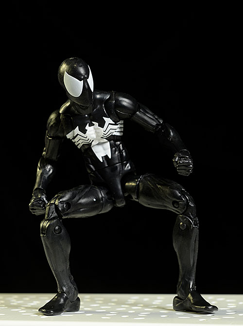 Black Suit Spider-Man Marvel Legends action figure by Hasbro