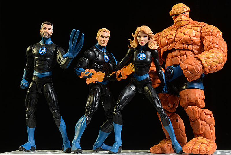 the Thing, Human Torch, Super Skrull Marvel Legends figure
