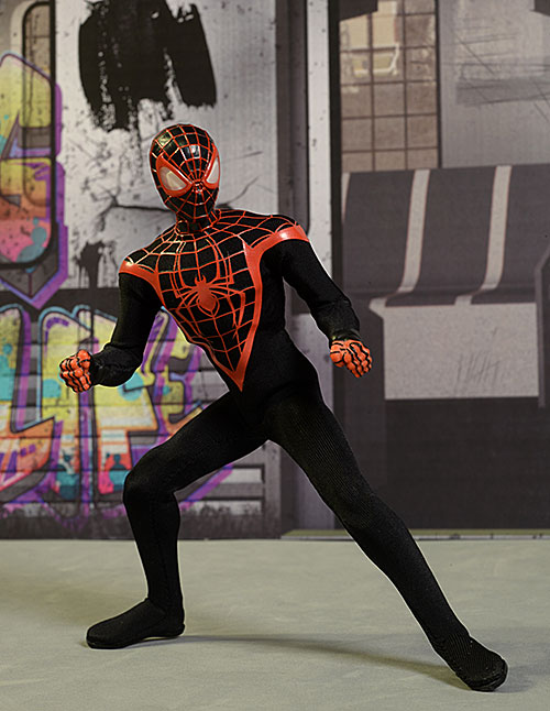 Spider-Man Ultimates Miles Morales One:12 Collective figure by Mezco Toyz