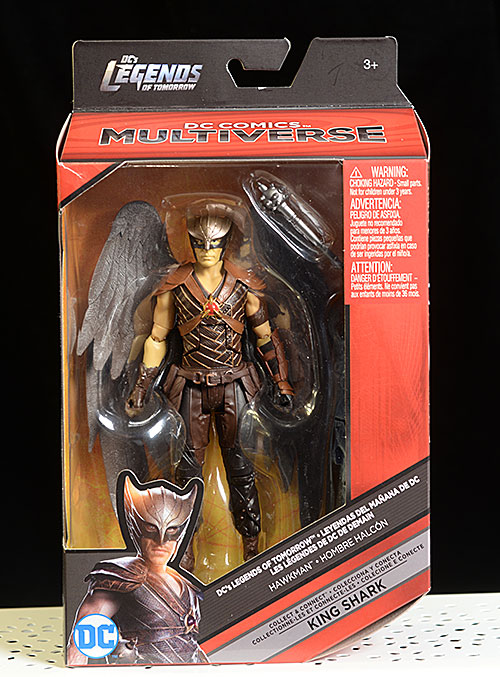 Legends of Tomorrow Hawkman Multiverse action figure by Mattel