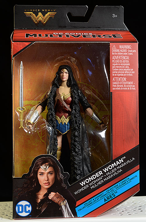 Multiverse Wonder Woman action figure by Mattel