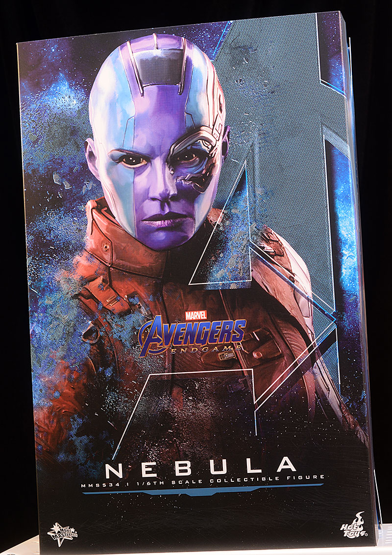Nebula Avengers Endgame sixth scale action figure by Hot Toys