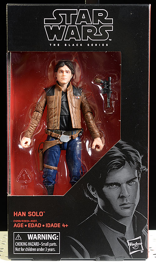 Han Solo Story Star Wars Black action figure by Hasbro