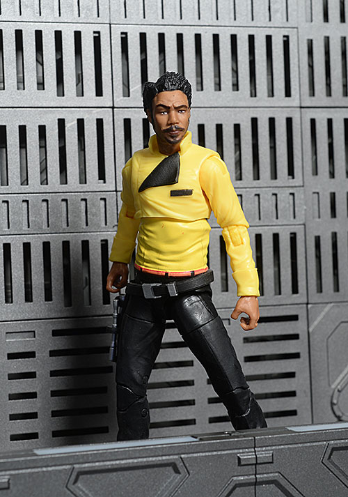 Lando Calrissian Star Wars Black Series action figure by Hasbro