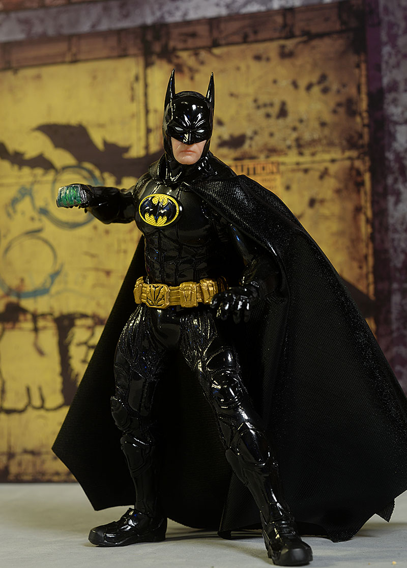 Batman Sovereign Knight Onyx One:12 Collective action figure by mezco