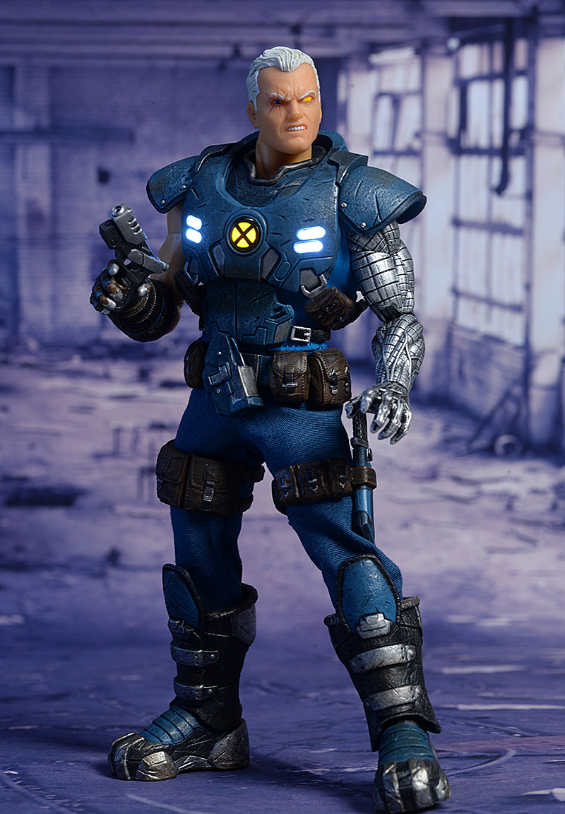 Cable One:12 Collective exclusive and regular action figure by Mezco