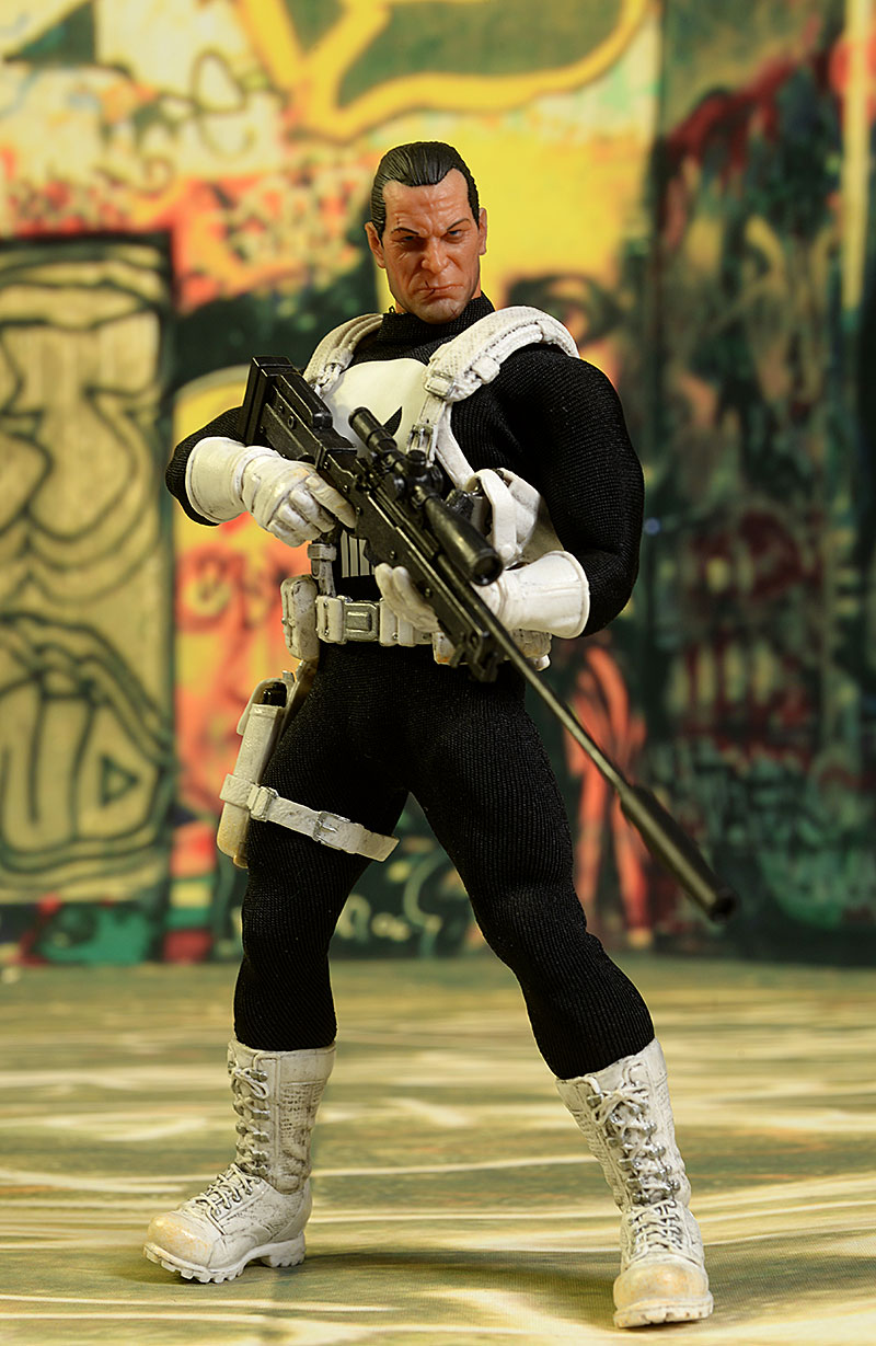 Punisher One:12 action figure