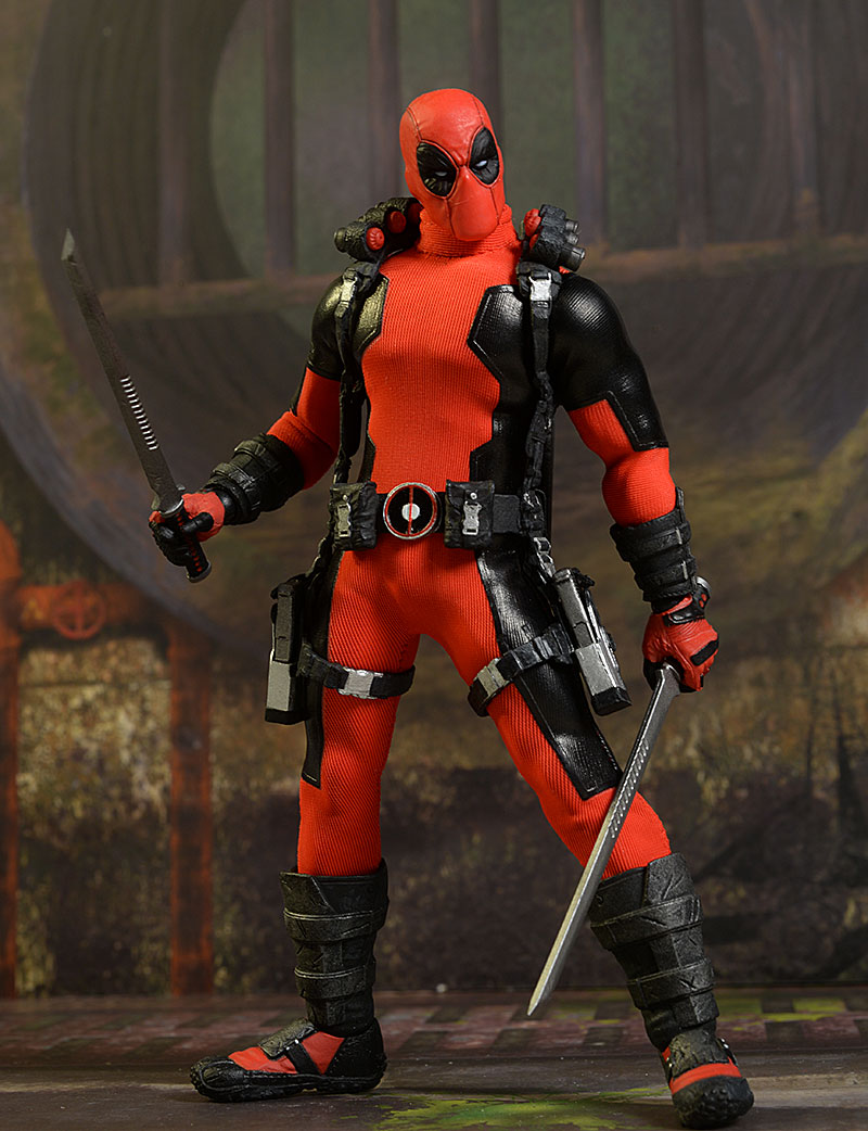 Deadpool One:12 Collective exclusive action figure by Mezco