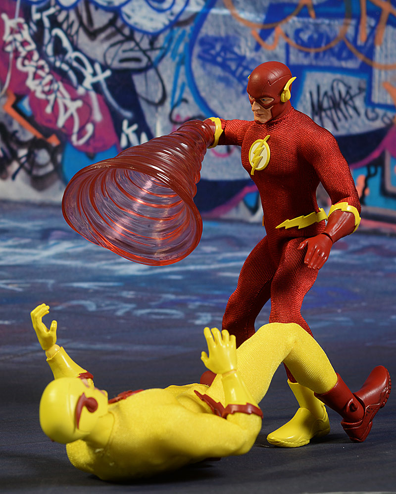 Flash, Zoom One:12 Collective action figure by Mezco