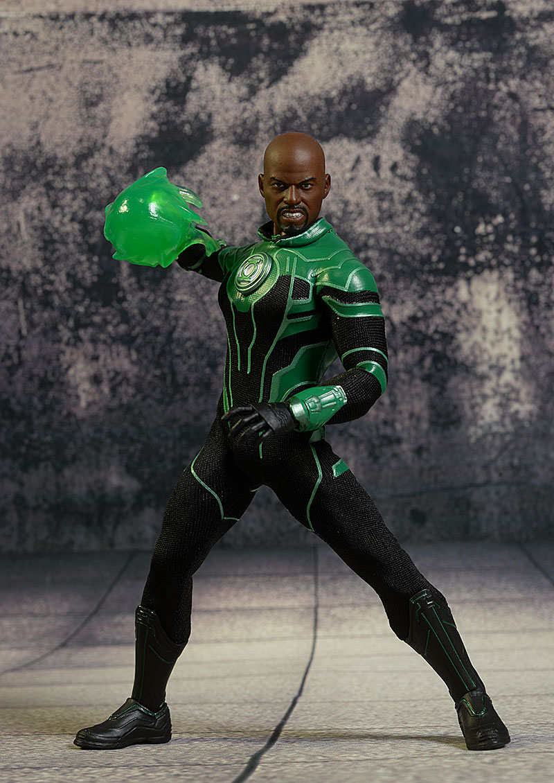 Review And Photos Of Green Lantern John Stewart One 12 Collective Action Figure