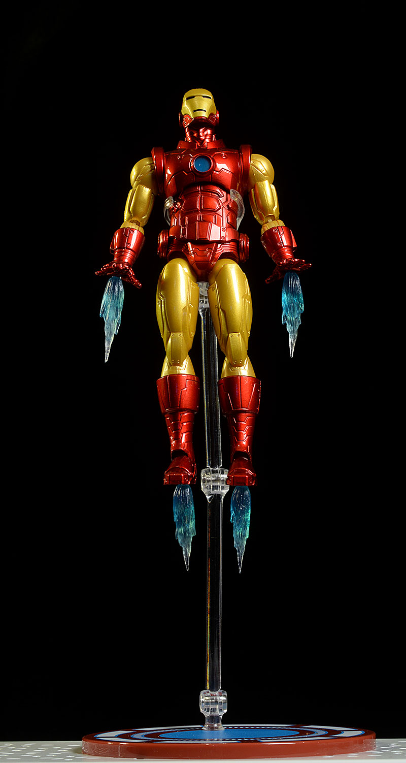 MEZCO ONE:12 COLLECTIVE IRON MAN ACTION FIGURE