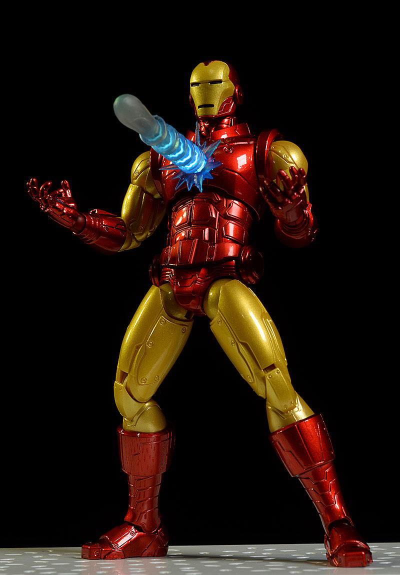 One:12 Collective Iron Man action figures