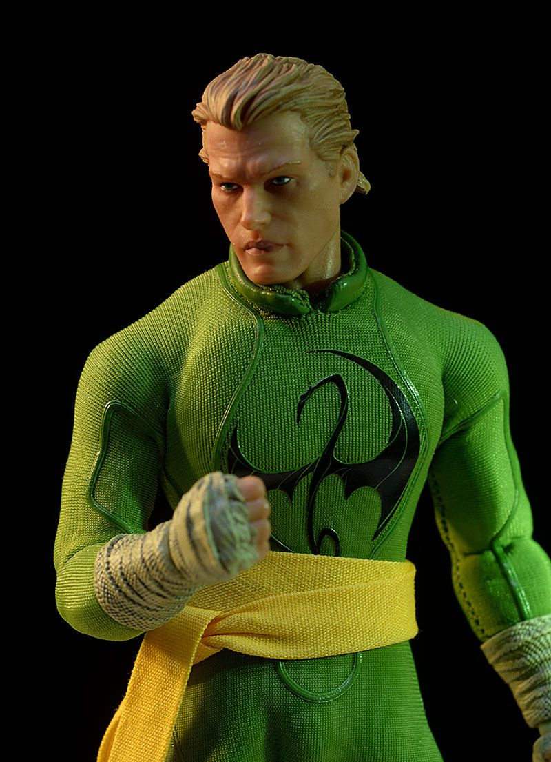 Iron Fist One:12 Collective action figure by Mezco