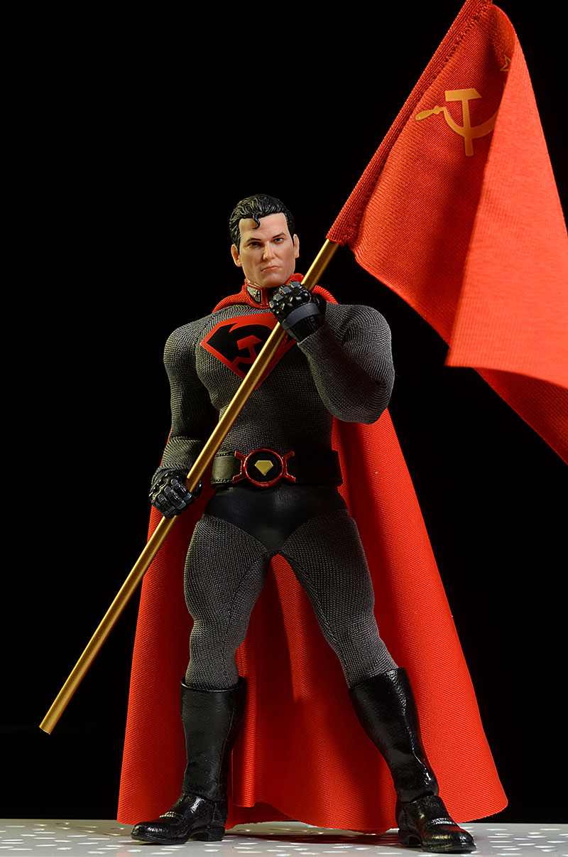 Red Son Superman One:12 Collective exclusive action figure by Mezco