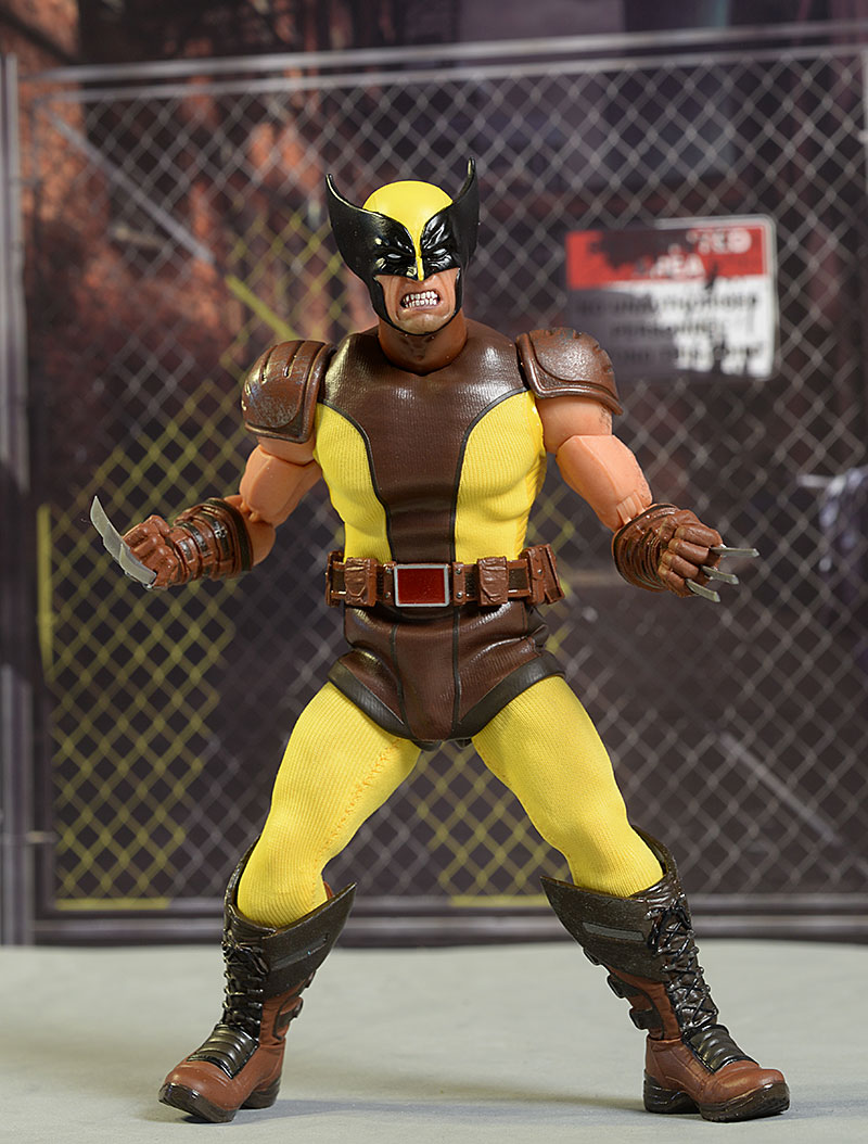 Wolverine One:12 Collective action figure by Mezco