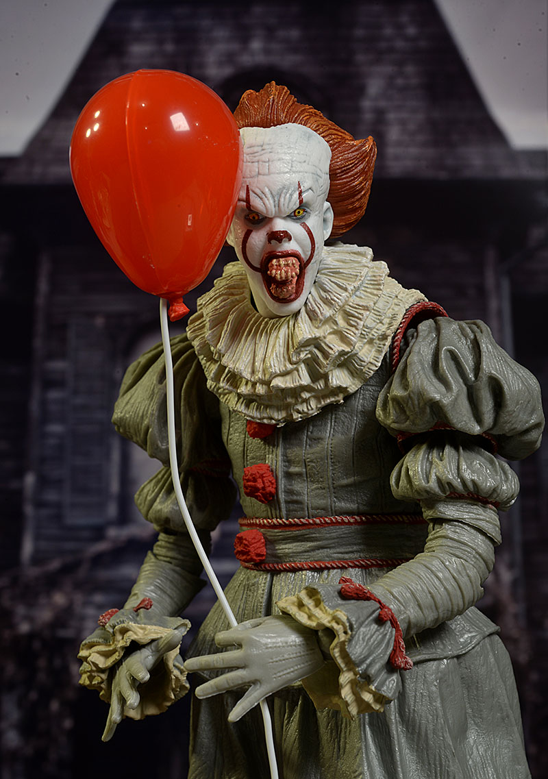 review and photos of pennywise it 2017 action figure