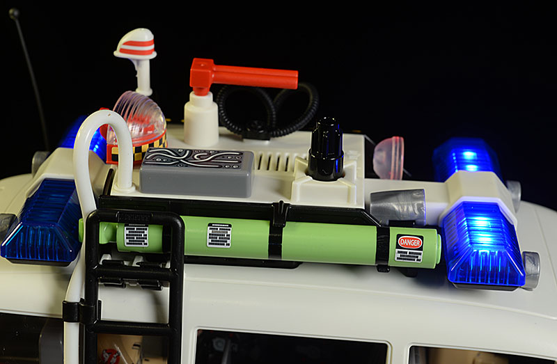 Ghostbusters Zeddemore, Janine, ECTO-1 action figures by Playmobil