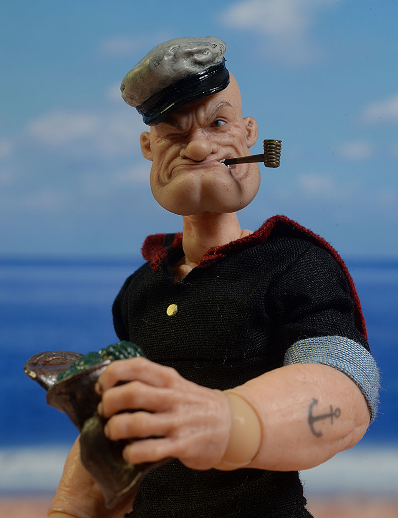 Popeye One:12 Collective action figure by Mezco