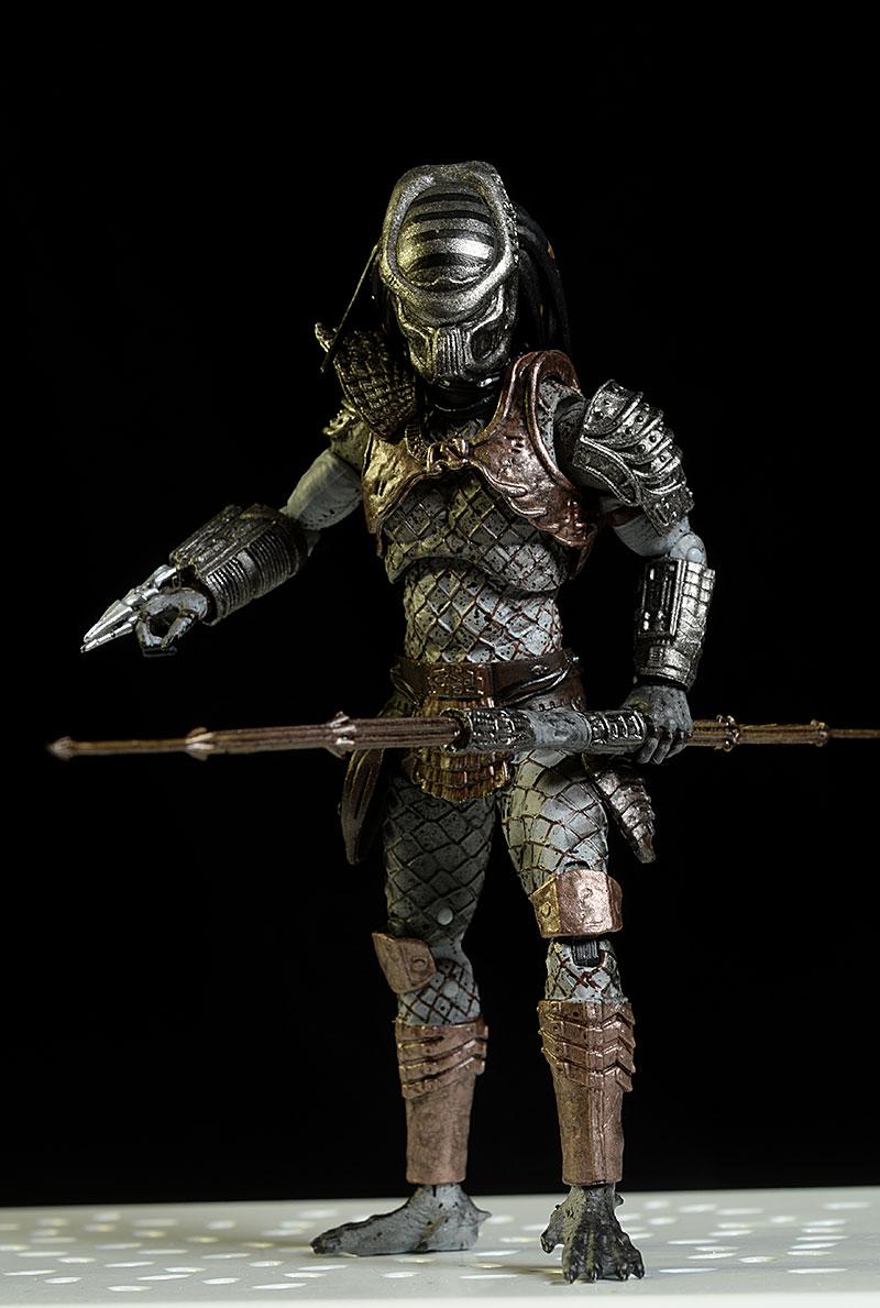 Warrior Predator 1 Hiya Toys Predator 2 18 Scale Action Figure