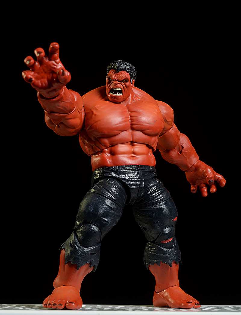 HASBRO MARVEL LEGENDS Red Hulk Action Figure 2020 Exclusive