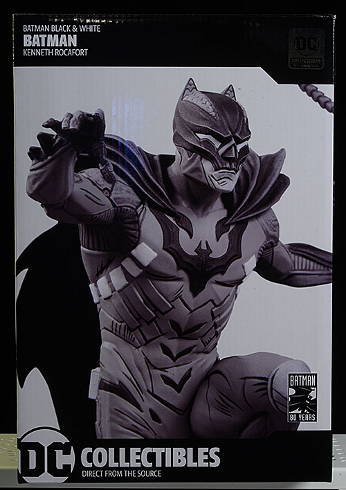 Kenneth Rocafort Batman Black and White statue by DC Collectibles