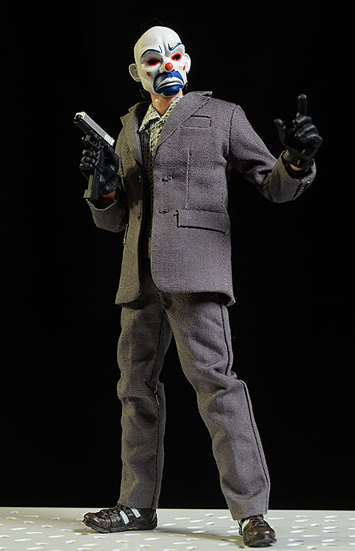 Bank Robber Joker Dark Knight action figure by Soap Studio