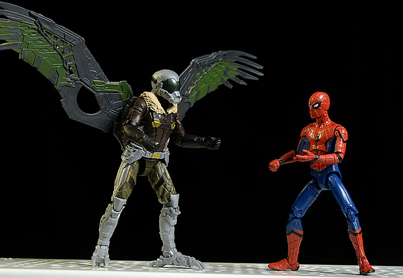 Spider-Man Homecoming Spider-Man, Vulture Marvel Legends action figure by Hasbro