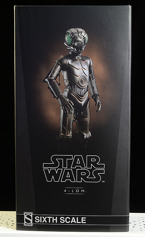 Star Wars 4-LOM sixth scale action figure by Sideshow