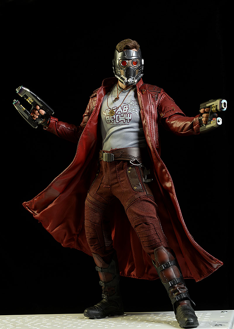 Star-Lord Guardions of the Galaxy 2 deluxe 1/6 figure by Hot Toys