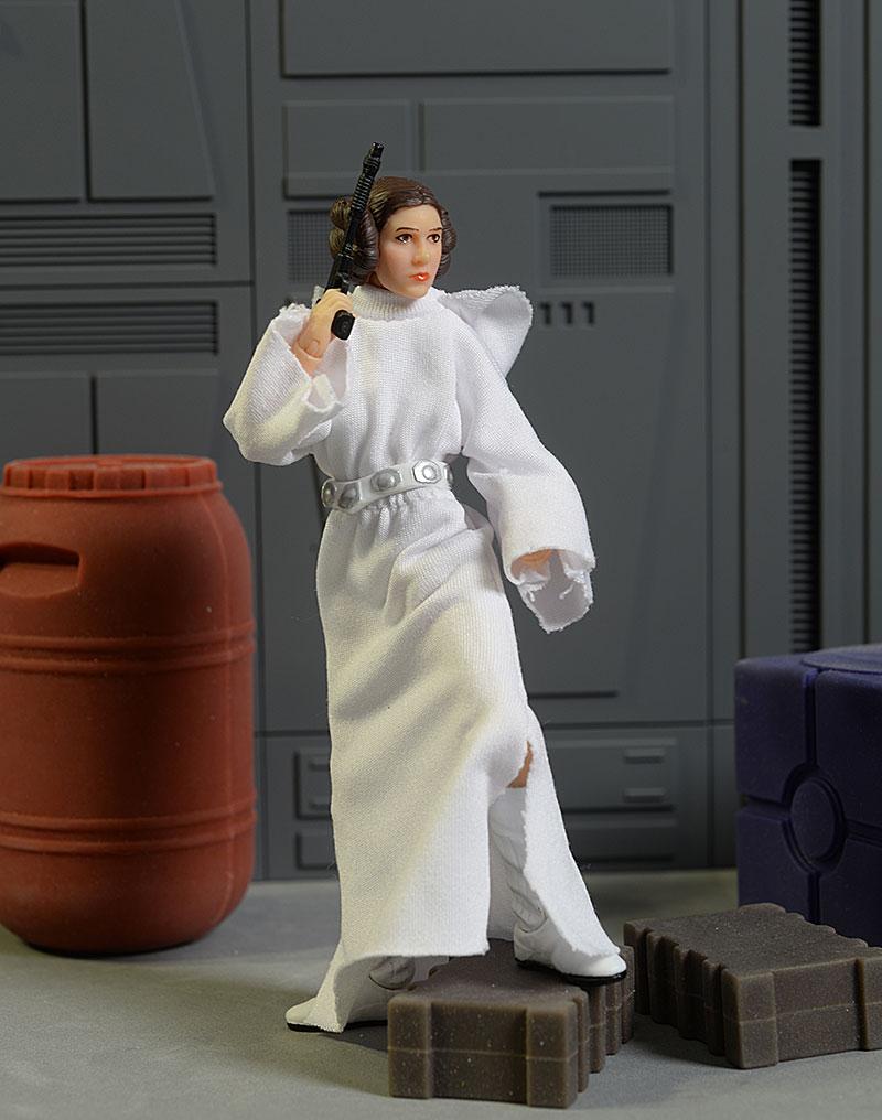 Star Wars Slave Leia action figure cardback